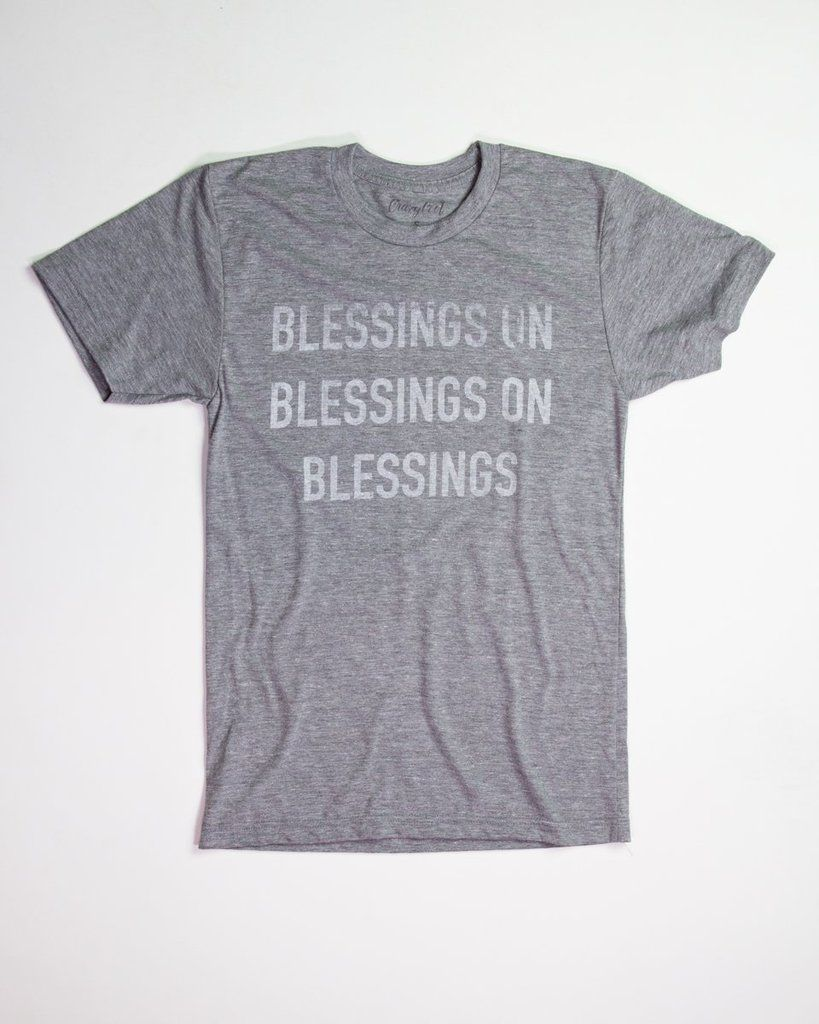 25648d38 Blessings on Blessings - Tee | Vintage graphic tees | Mens tops, T ...