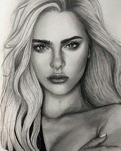 49+ Best of Amazing Face Drawings (Die +49 besten Bilder von Zeichnungen Gesicht… – Art