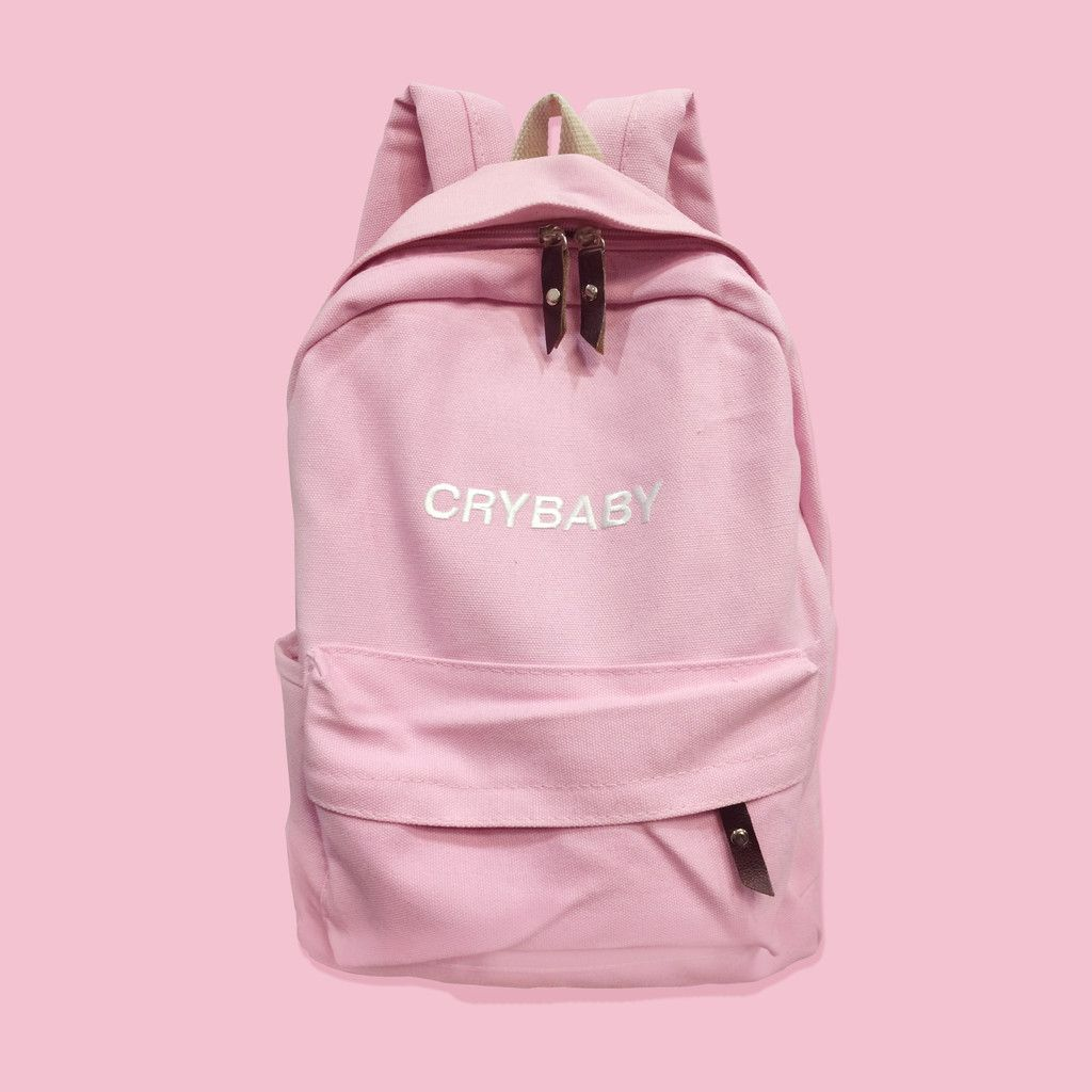 1dd6838b9 CRYBABY-Tumblr-Aesthetic backpack | Bordados calzado | Mochilas ...