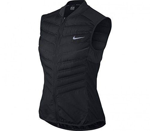 07b2a8f35 Nike Women's Aeroloft 800 Vest Black 686199-010 (S) | Sports/workout ...