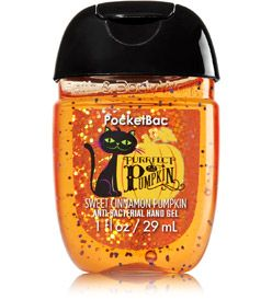 Purrfect Pumpkin Sweet Cinnamon Pumpkin Pocketbac Sanitizing