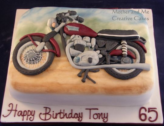 Motorbike Birthday cakes Pinterest Guy cakes Cake and