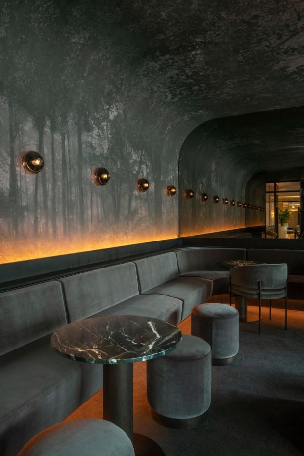 Nouveau restaurant Marcus du Four Seasons Hôtel Montréal par Atelier Zébulon Perron
