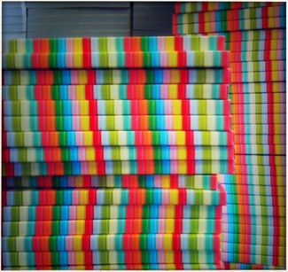 stacks of rainbows