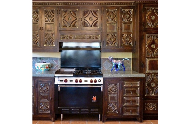 Custom Kitchen Cabinets Refacing Santa Barbara Ca Fe Nm