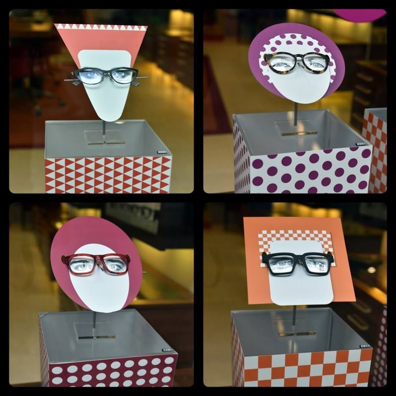 Eyeglass display. Stay display inspired! #retaildetails