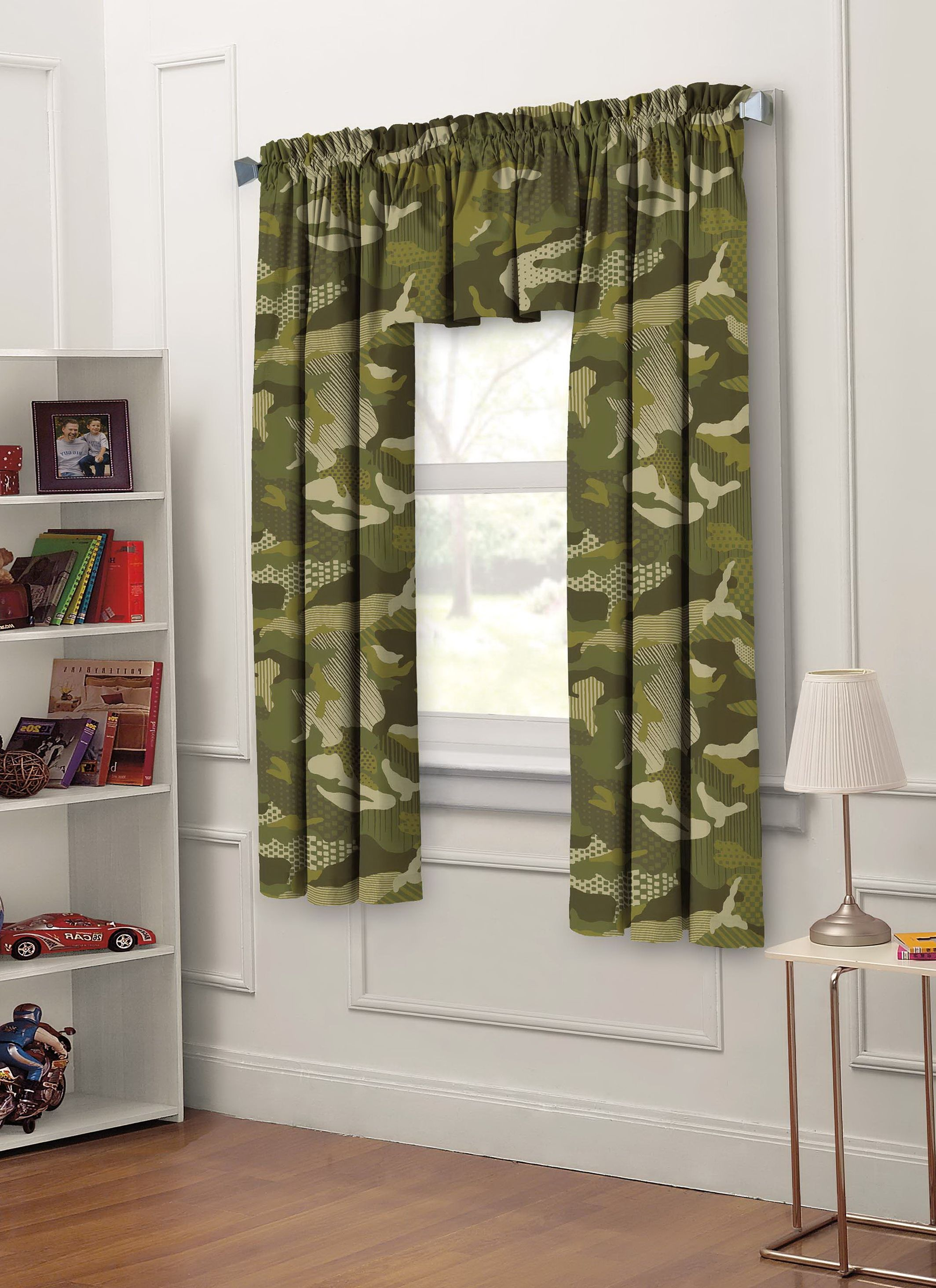 Kids bedroom window curtains home design ideas curtain style cartoon