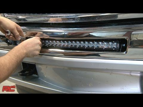Installing 2007 2013 Chevrolet Silverado 1500 20 Inch Single Row Led Light Bar Bumper Mount Youtube Chevy Silverado 2011 Chevy Silverado Silverado
