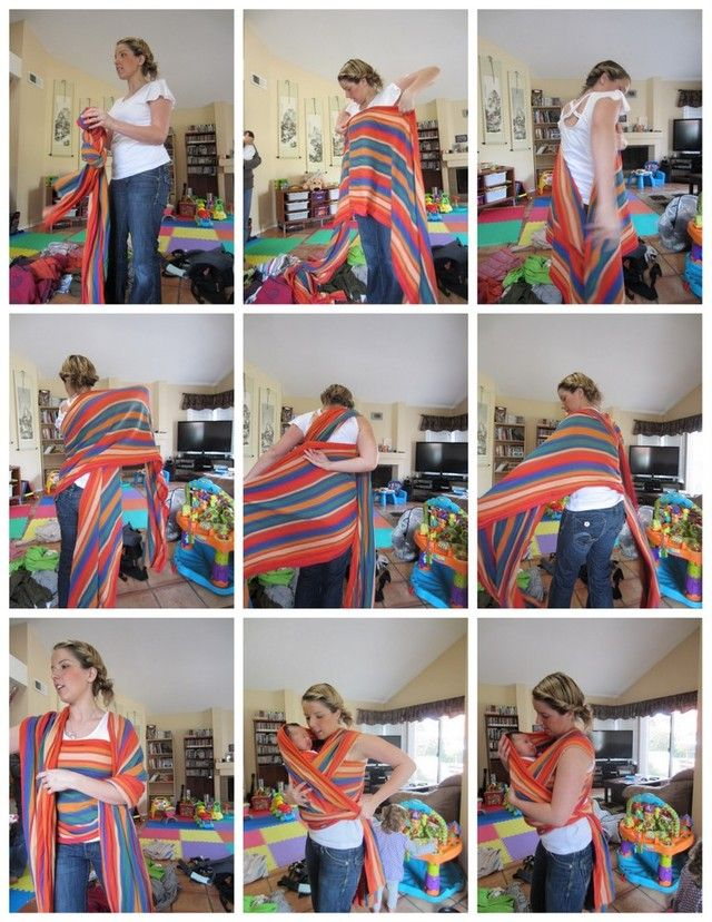 Paige Plihal From Beachy Bundles Demonstrates How To Do A Front Wrap