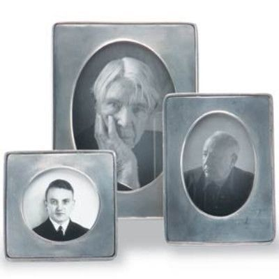 Small Piemonte Pewter Frames by Match