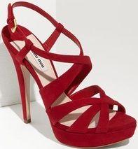 146a224950e Shop Women s Miu Miu Heels on Lyst. Track over 1252 Miu Miu Heels for stock  and sale updates.