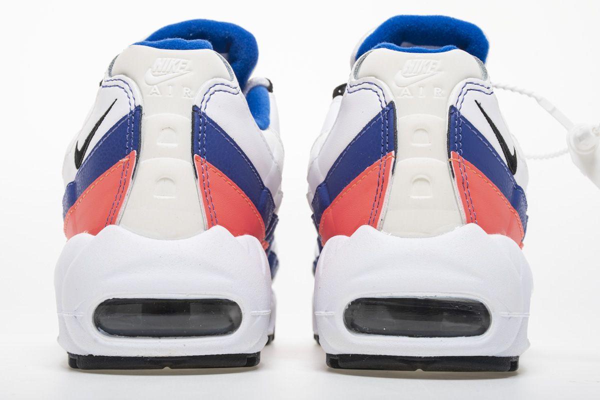 online retailer ed0c9 93985 Nike Air Max 95 Essential White BlackSolar Red Shoes 749766-106 5