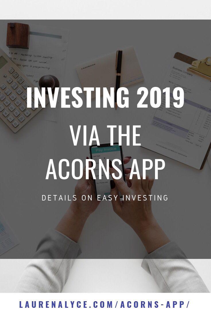 Investing with the Acorns App Acorns app, Investing