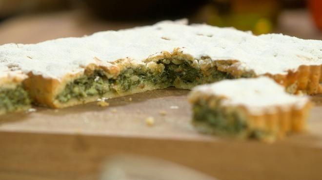 tarte ni oise aux blettes une recette traditionnelle ici simplifi e petits plats en