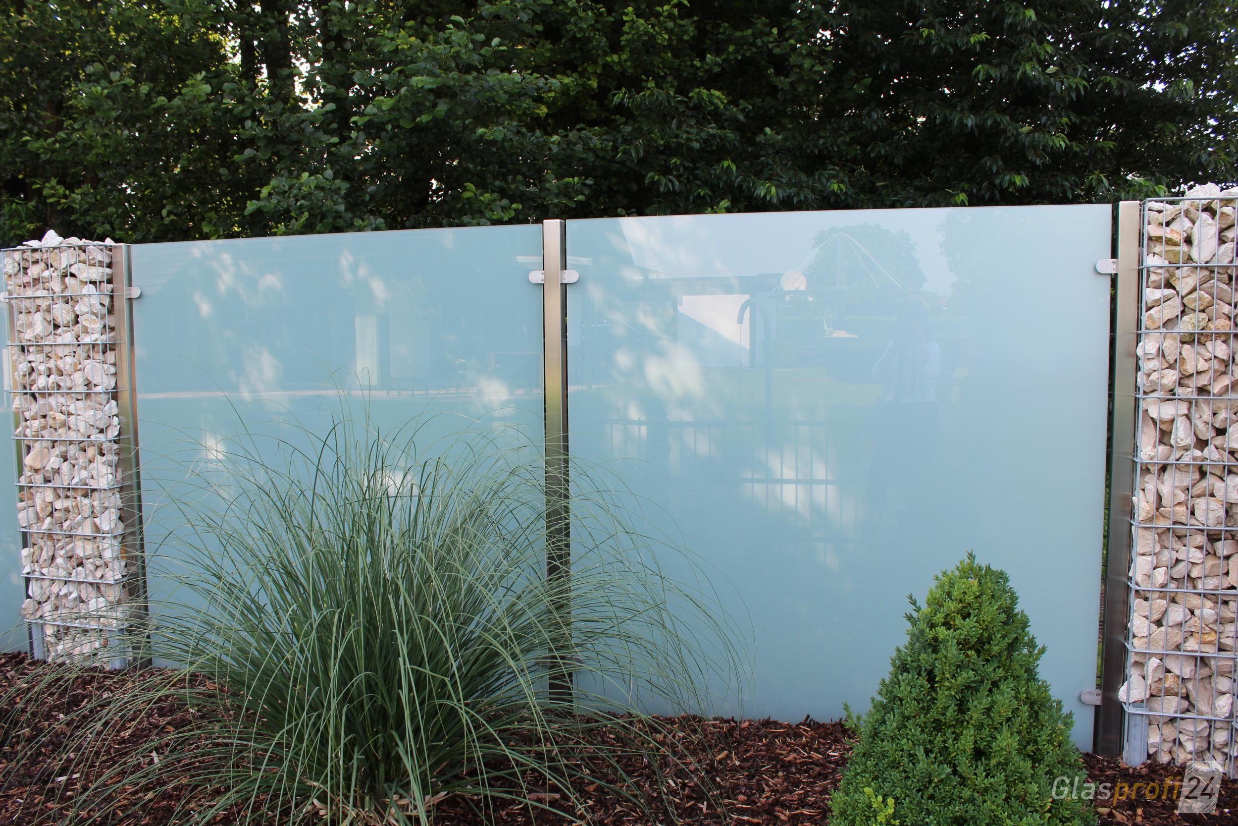 Sichtschutz Aus Glas Fur Den Garten Glasprofi24 Sichtschutz