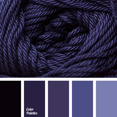 Blue Purple Color Of Violet Dark Shades Winter