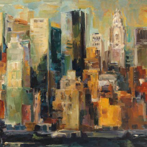 New York, New York by Marilyn Hageman. Art print from Art.com.
