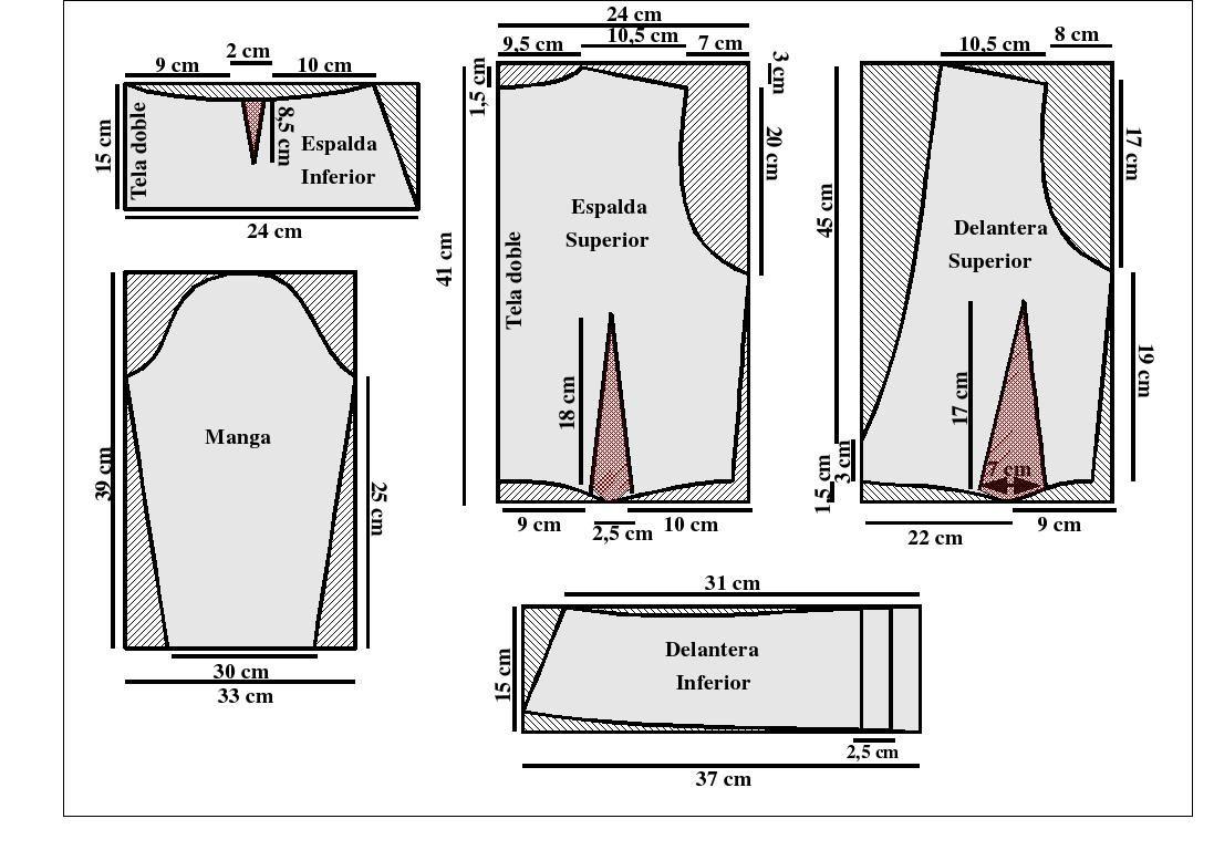 Patrones De Blusas Para Imprimir Rubrics Pattern Tri