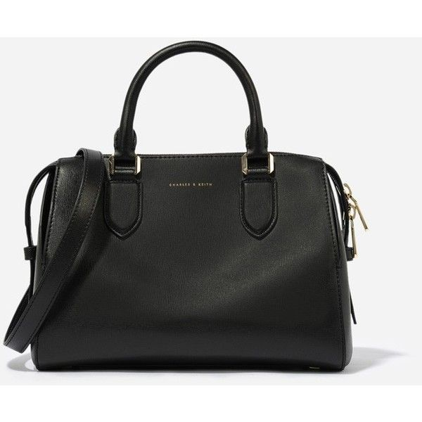 Charles Keith Casual Bowling Bag 120 Aud Liked On Polyvore Featuring Bags