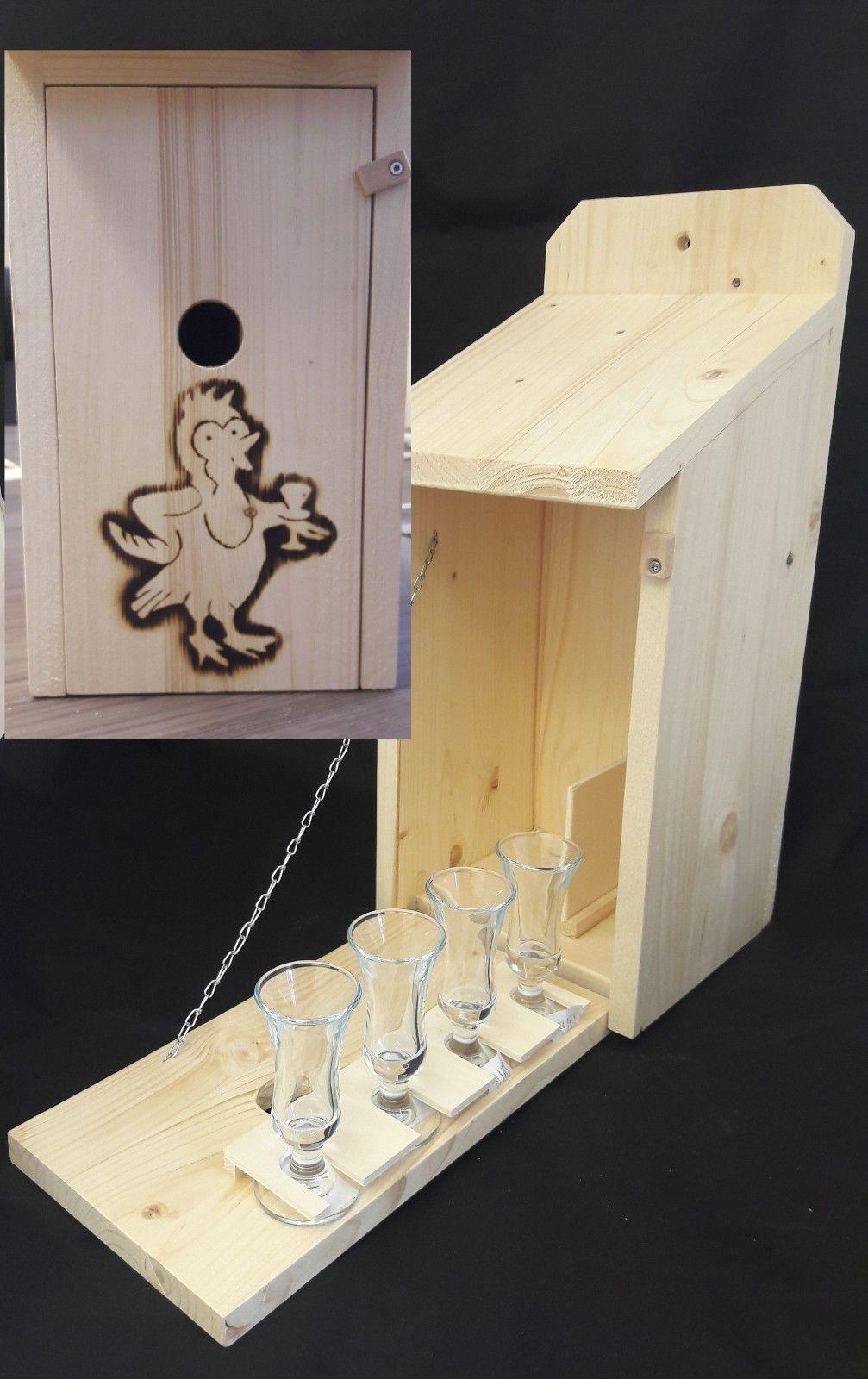 Vogelhaus Schnapsbar Holz Zwitscherkasten Geschenkidee Mit Gebranntem Motiv Eur 34 34 Picclick De Zwitscherkasten Holzgeschenke Geschenkideen