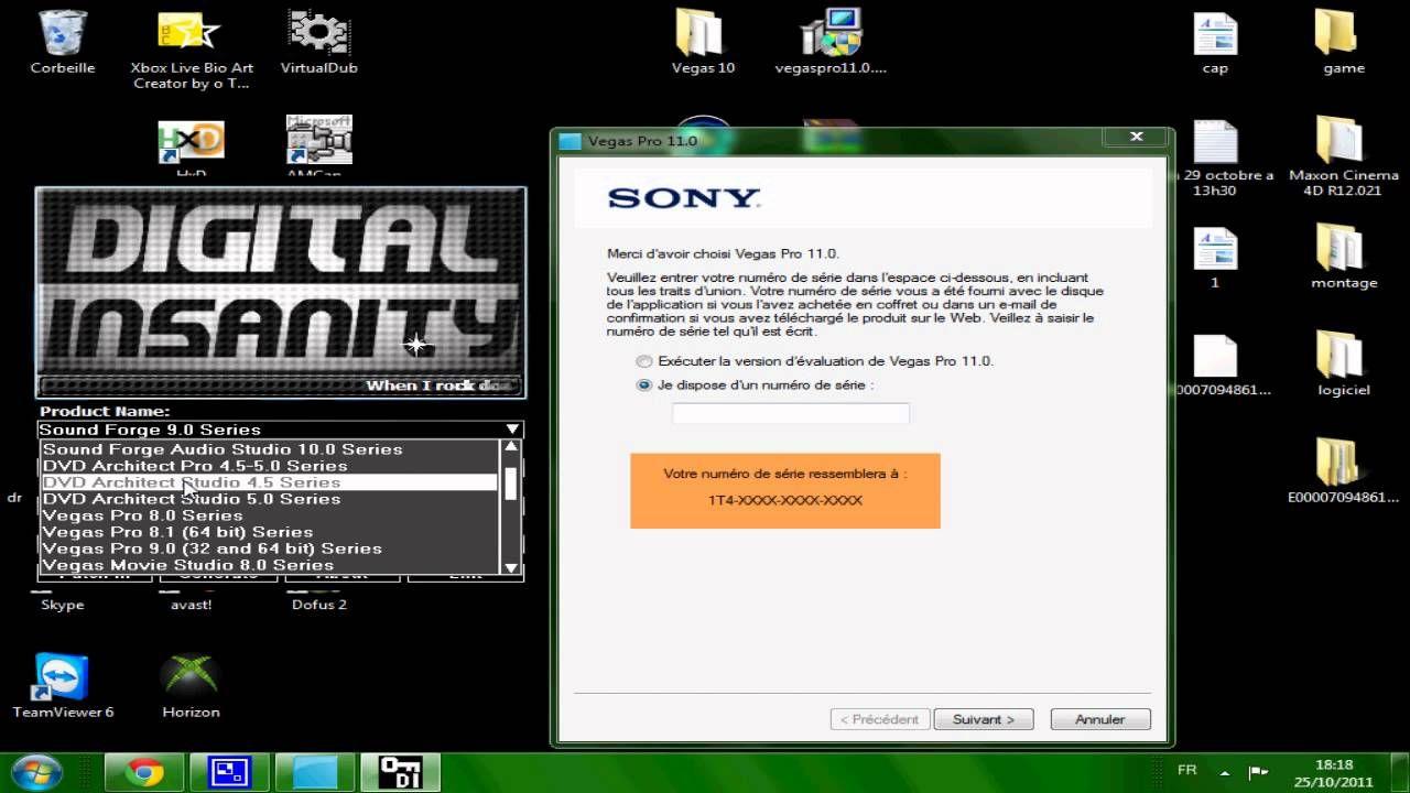 Sony Vega Pro 13 32 Bits + Crack Serial Key