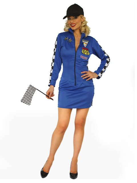 Sexy Racer Costume Car Racing Uniforms Plus Size Fancy Dress Costumes For Women Carnaval Halloween Adult Role Playing Outfits Costumes & Accessories Women's Costumes