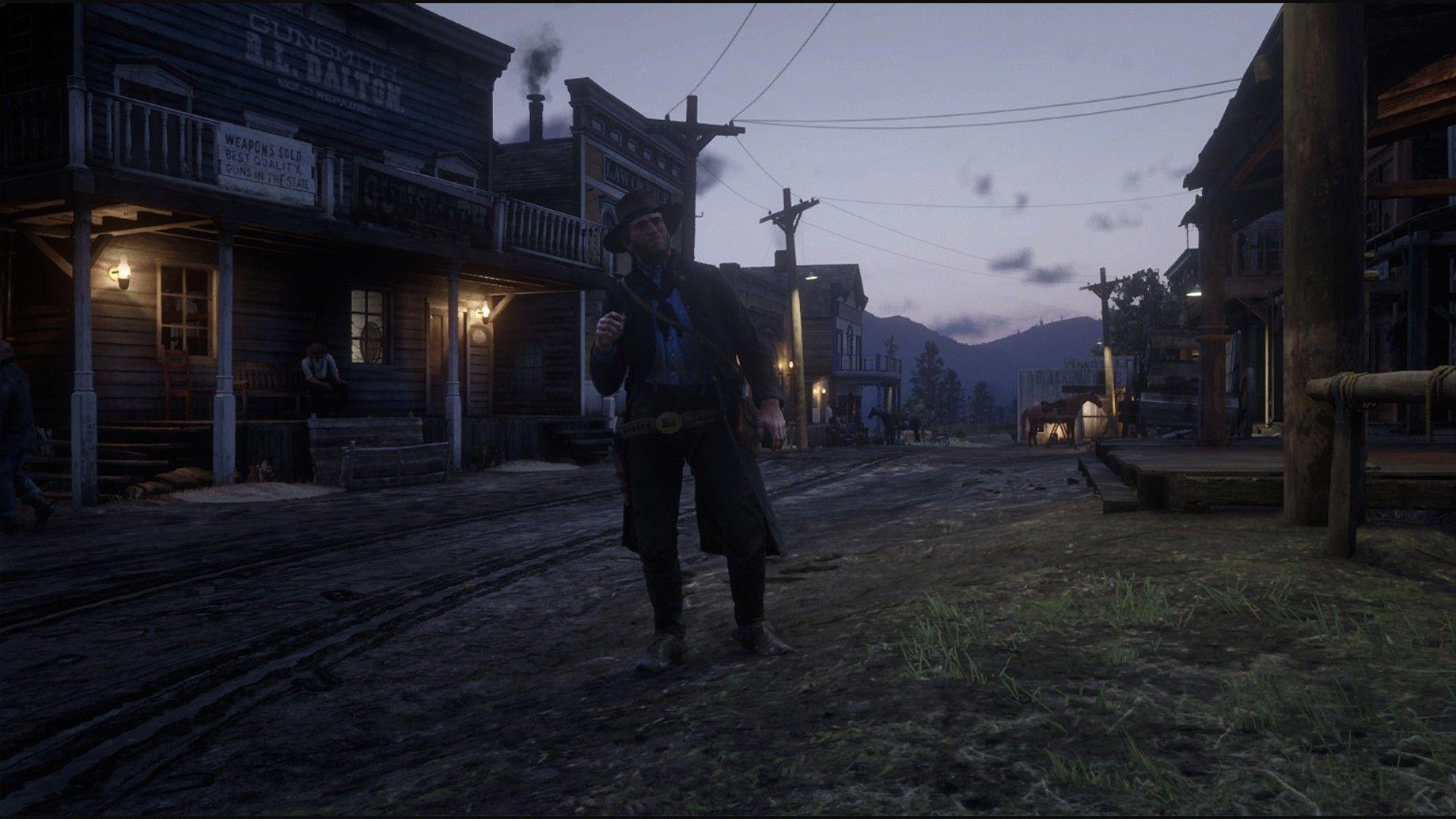 Red Dead Redemption 2 Xbox One Einrib13 Arthur Morgan In