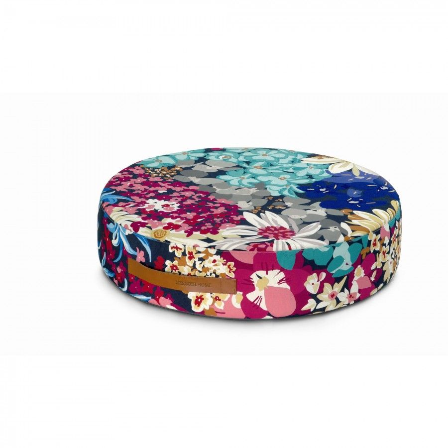"Missoni Home Furniture London: Missoni Home Alice Round Floor Cushion 27.5"""