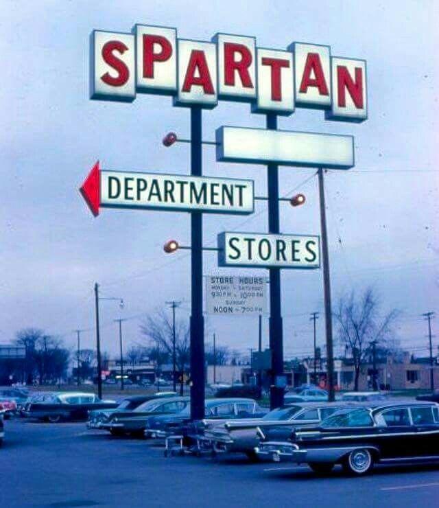 Department Store, Dept Store, Vintage