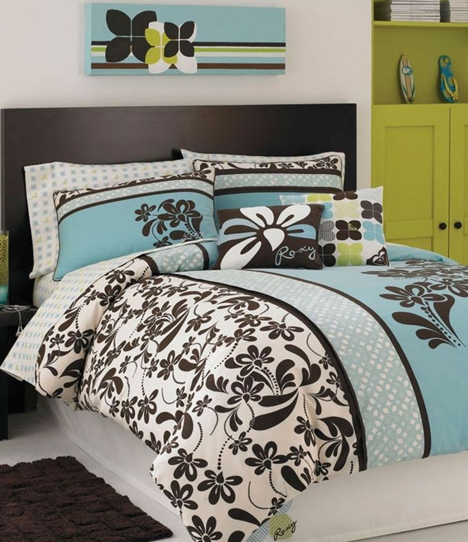 brown and turquoise bedding bedrooms pinterest turquoise bedding duvet and bedrooms. Black Bedroom Furniture Sets. Home Design Ideas