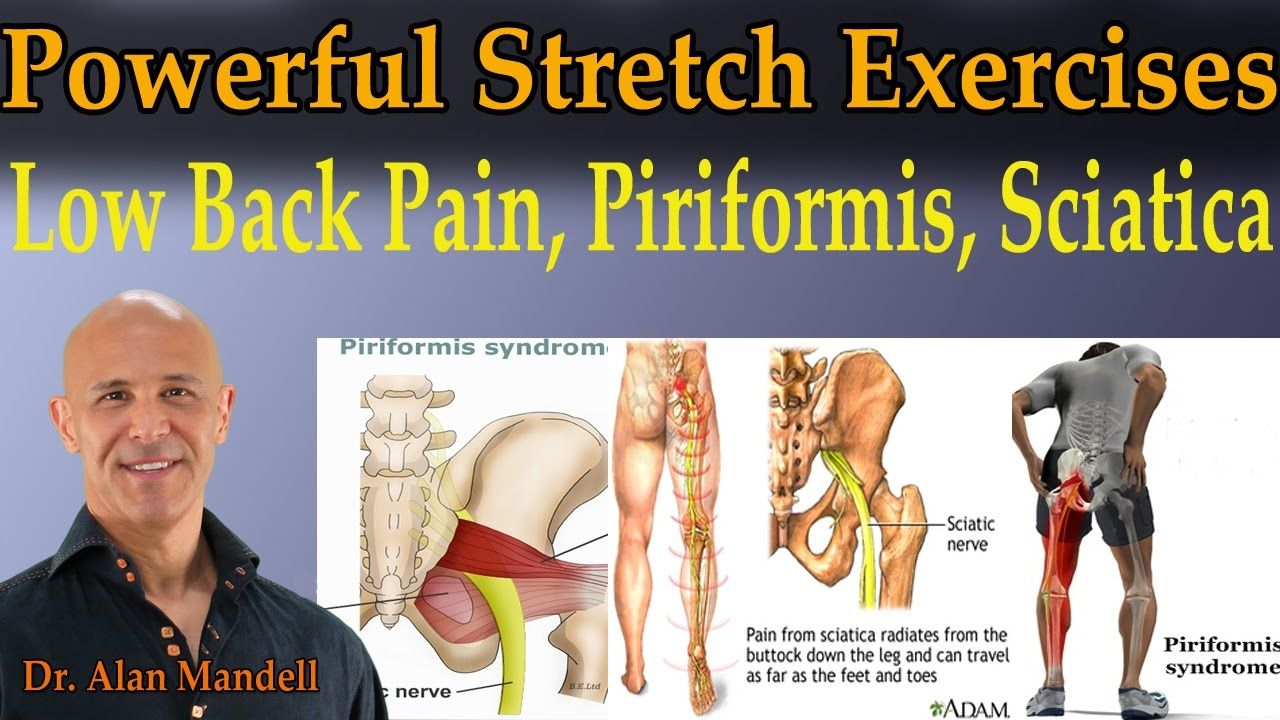Powerful Stretch Exercises for Low Back Pain Piriformis Sciatica