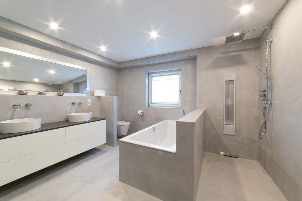 Design Badezimmer Beton Versiegelt Badezimmer Design Badezimmer Design