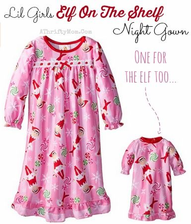 926b11e5d286 Elf on the Shelf Christmas PJ s with Matching set for your doll ~ On ...