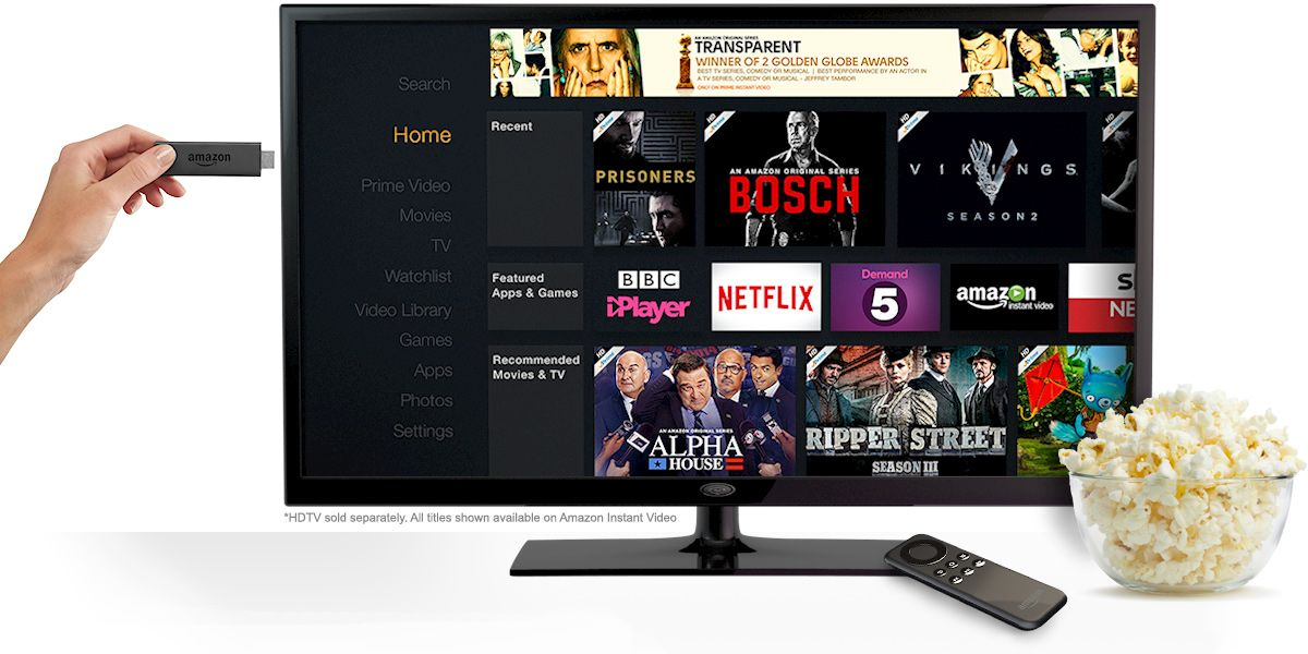 FireStick Free Movies, Shows, Live TV, Sports Amazon