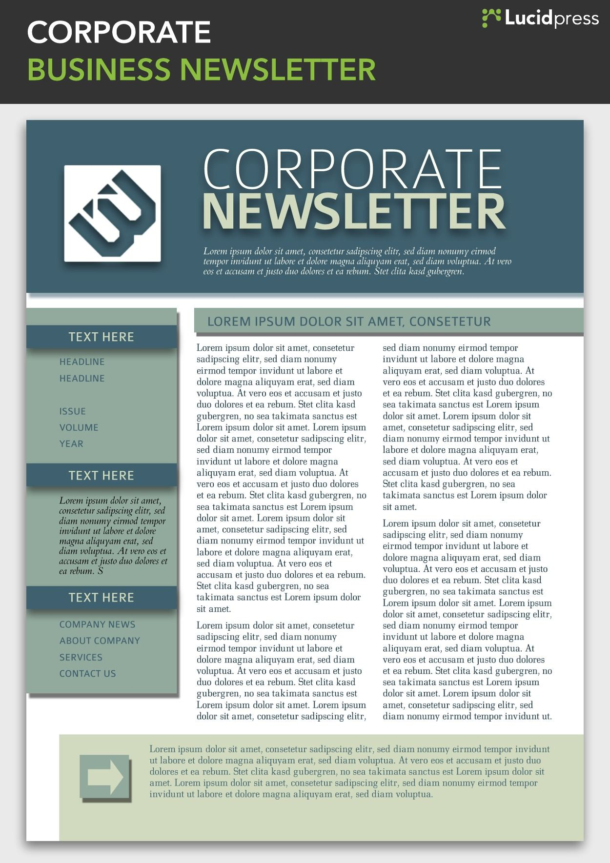 newsletter templates online