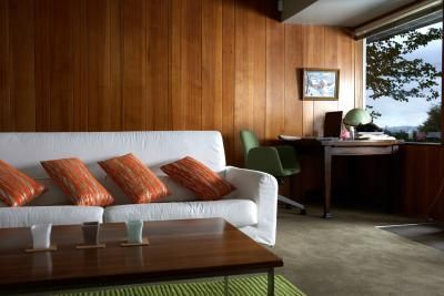 How To Make A Wall With Wood Paneling Look More Modern