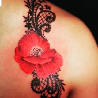fleur coquelicot tatouage recherche google tatouage pinterest coquelicot tatouage. Black Bedroom Furniture Sets. Home Design Ideas