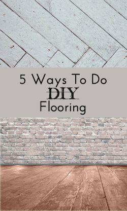 5 Easy DIY Flooring Ideas