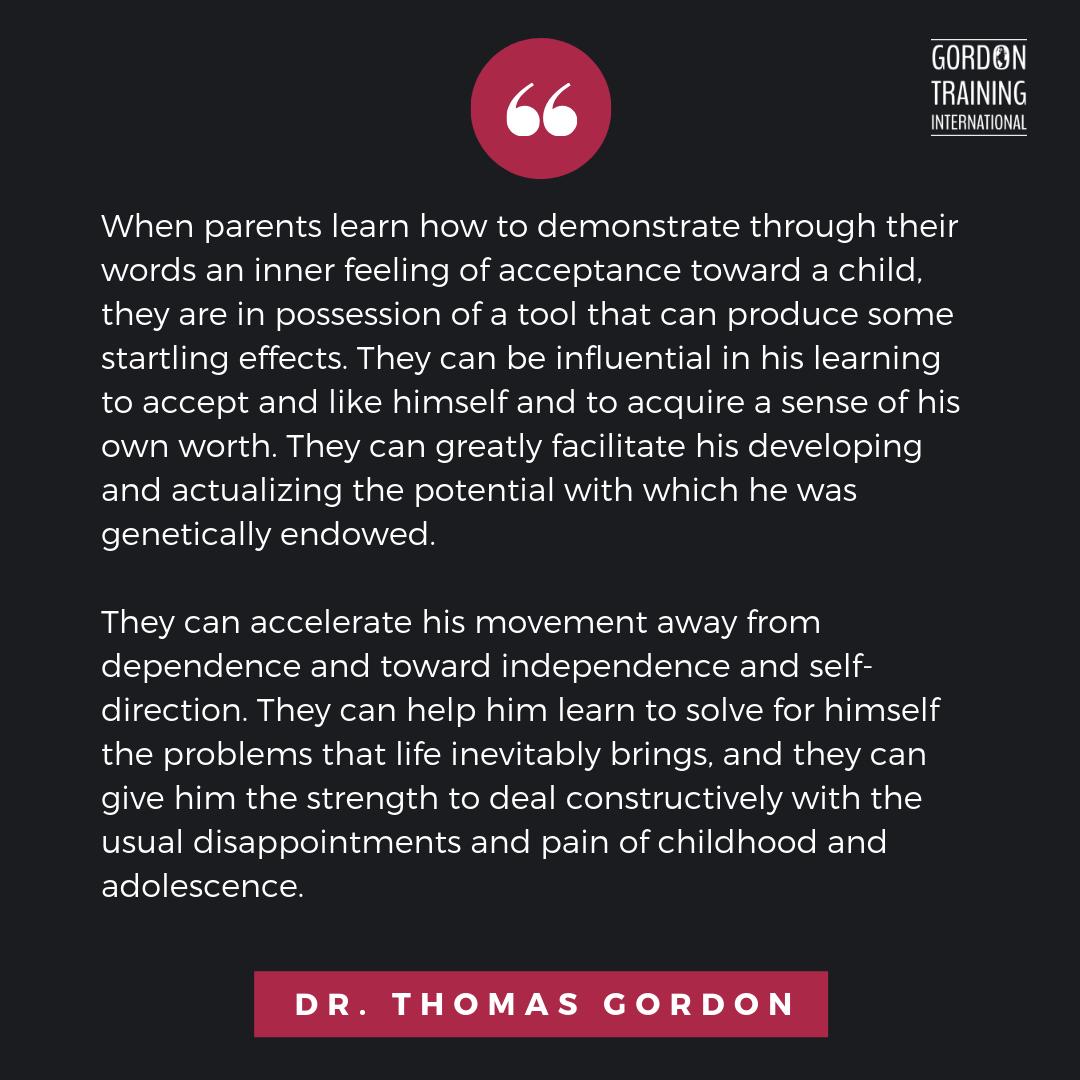Parenting Gordonmodel