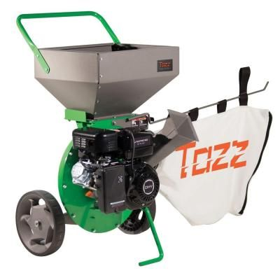 600 K32 Chipper Shredder With 212cc Viper Engine 18493 The Home Depot