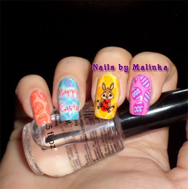 Nails by Malinka: Pasen - Easter nails