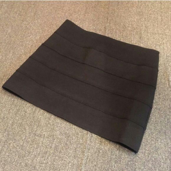 L8TER mini skirt EUC,Black ,BANDAGES mini skirt L8TER  Skirts Mini