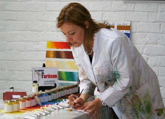 ISARO - fabrication artisanale de peintures aquarelle et huile pour