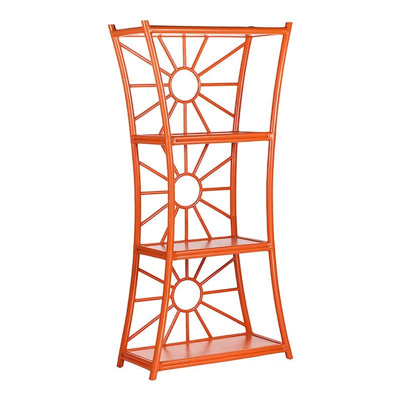 David Francis Furniture: Orange Bookshelf Aura Etagere