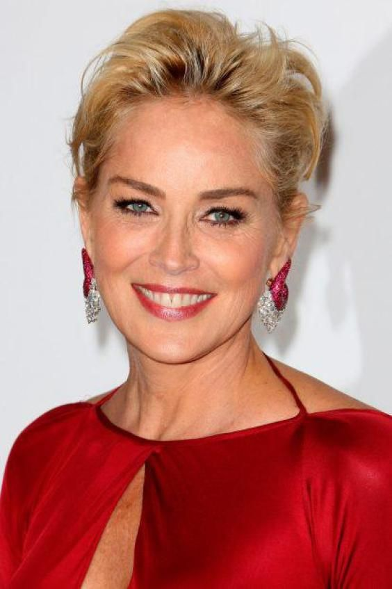 Gorgeous Kurze Frisuren Für Frauen über 50 Sharon Stone And Short
