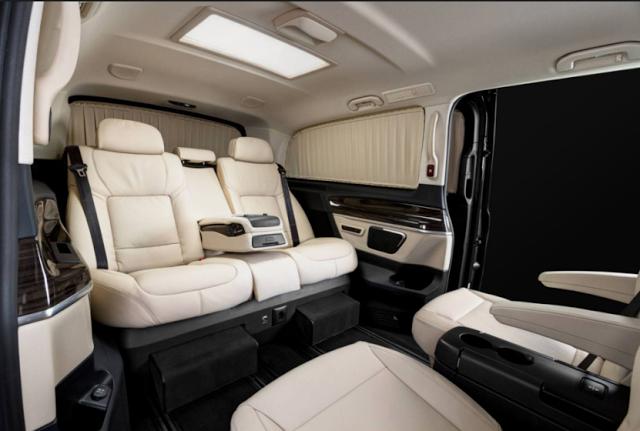 2018 Mercedes Benz V Class Interior Features Future