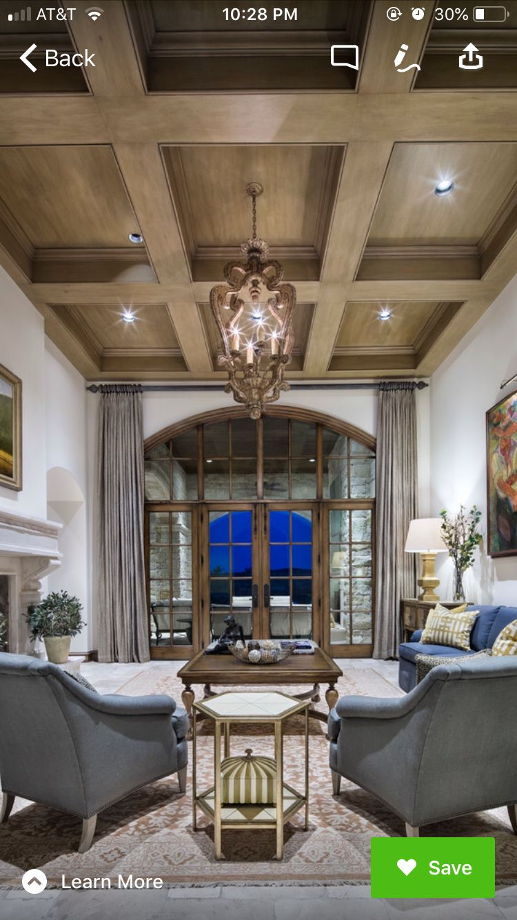 Pin by KW on Window treatments   Elegant living room, Top ...