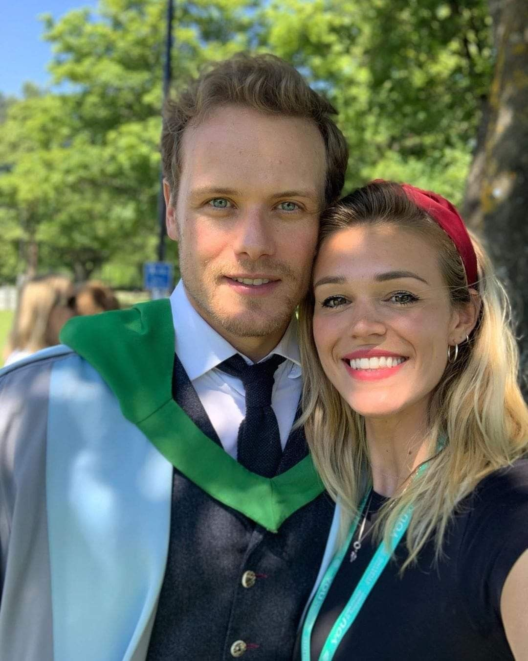 Pin By Susan Robinson On Outlander Sam Heughan And Caitriona