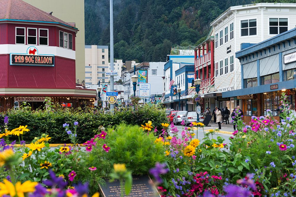 Downtown Juneau. Best honeymoon destinations, Best
