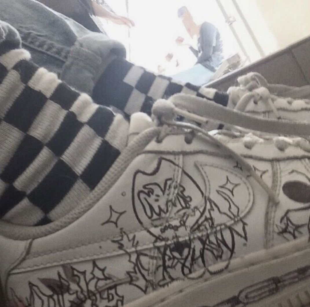 Pin by chlo on a | Shoes, Grunge, Nike air force ones